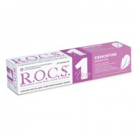 R.O.C.S. UNO Sensitive ксилит 2% 74 г. зубная паста