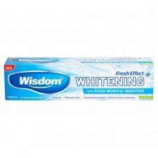 Wisdom Fresh Effect отбеливающая зубная паста с фтором 100 мл