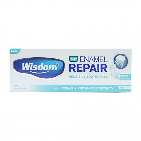 Wisdom Daily Enamel Repair восстанавливающая зубная паста для чувствительных зубов 75 мл