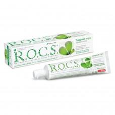 ROCS энергия утра зубная паста двойная мята комплексная защита (74 гр)