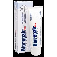 Biorepair PRO White Plus отбеливающая восстанавливающая зубная паста (75мл)