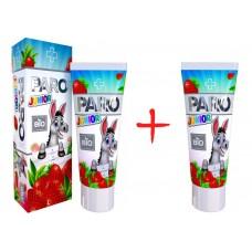 Paro dent Junior BIO зубная паста с витаминами от 3 до 11 лет (50 мл)