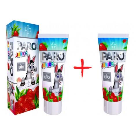 Paro dent Junior BIO зубная паста с витаминами от 3 до 11 лет (50 мл) 2 шт