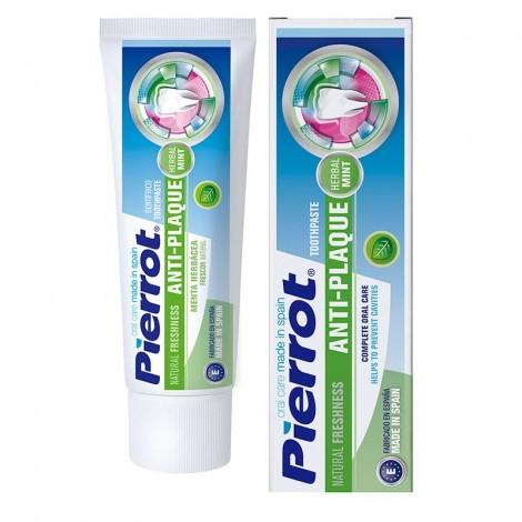 Pierrot Natural Freshness Anti-plaque укрепляющая зубная паста природная свежесть (75 мл)
