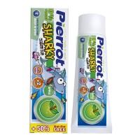 Pierrot Kids Sharky зубная паста со вкусом яблока для детей от 2 лет (50 мл)