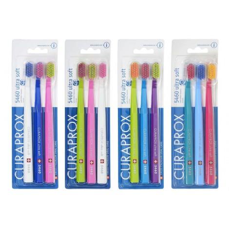 Курапрокс CS 5460/3 Ultrasoft набор зубных щеток с ультра мягкими щетинками (3 шт)