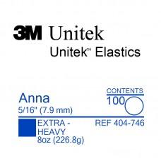 3M Unitek Anna (Анна) 5/16 (7,94 мм) 8 Oz (227 г) эластики внеротовые