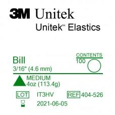 3M Unitek Bill (Билл) 3/16 (4,76 мм) 4 Oz (113 г) эластики внутриротовые