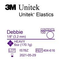 3M Unitek Debbie (Дебби) 1/8 (3,18 мм) 6 Oz (170 г) эластики внутриротовые