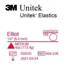 3M Unitek Elliot (Эллиот) 1/4 (6,35 мм) 4 Oz (113 г) эластики внутриротовые