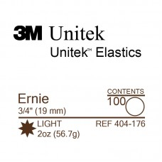 3M Unitek Ernie (Эрни) 3/4 (19,1 мм) 2 Oz (56,7 г) эластики внутриротовые