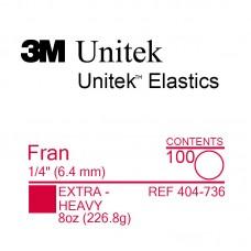 3M Unitek Fran (Фран) 1/4 (6,35 мм) 8 Oz (226,8 г) эластики внеротовые