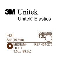 3M Unitek Hal (Хал) 3/4 (19,1 мм) 3,5 Oz (99,2 г) эластики внутриротовые
