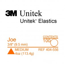 3M Unitek Joe (Джо) 3/8 (9,35 мм) 4 Oz (113,4 г) эластики внутриротовые