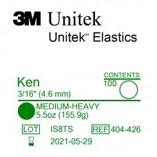 3M Unitek Ken (Кен) 3/16 (4,76 мм) 5,5 Oz (155,9 г) эластики внутриротовые