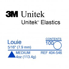 3M Unitek Louie (Луи) 5/16 (7,94 мм) 4 Oz (113,4 г) эластики внутриротовые