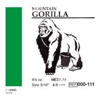 "American Ortodontic Gorilla Горилла 3/16"" (4.76 мм) 4,5 Oz. эластики внутриротовые"