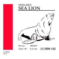 "American Ortodontic Sea Lion Морской Лев 1/4"" (6.35 мм) 6,5 Oz. эластики внутриротовые"