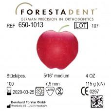 """Forestadent Яблоко 5/16"""" (7,9 мм) 4 Oz (115 г) эластики внеротовые"""