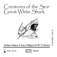 "Ortho Technology Great White Shark (Акула) внутриротовые эластики 5/16"" 6,5 Oz"