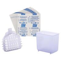 Fittydent ортодонтический набор - таблетки для чистки ортоконструкций и контейнер