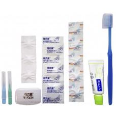 Y-Kelin Ortodontic Kit Дорожный ортодонтический набор для брекетов синий для него