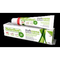 Fittydent Naturedent Vegan фиксирующий крем для съемных зубных протезов 40 г