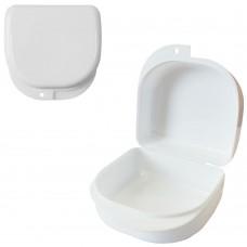 MIG DB-02 Белый контейнер для съемных зубных протезов (71*78*45 мм)