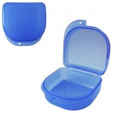 MIG DB-02 Голубой контейнер для съемных зубных протезов (71*78*45 мм)