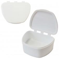 MIG DB-05 Белый контейнер для съемных зубных протезов (67*92*38)