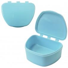 MIG DB-05 Бирюзовый контейнер для съемных зубных протезов (67*92*38)
