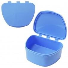 MIG DB-05 Голубой контейнер для съемных зубных протезов (67*92*38)