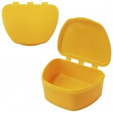 MIG DB-05 Жёлтый контейнер для съемных зубных протезов (67*92*38)
