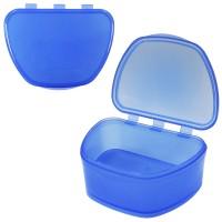 MIG DB-05 Темно-синий контейнер для съемных зубных протезов темно-синий (67*92*38)