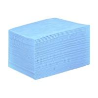 IGRObeauty простыня голубая 80х200 см, СМС, (12г/м2) 50 шт