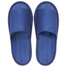 IGRObeauty тапочки открытые на жёсткой подошве ЭВА, не скользящие синие