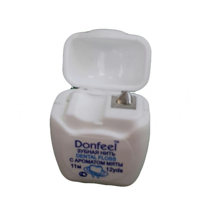 Donfeel Mini Dental Floss зубная нить с мятным вкусом (11 м)
