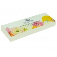 Dona Jerdona бумага для депиляции в полосках белая (7х22/80 г) 50 шт