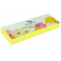 Dona Jerdona бумага для депиляции в полосках желтая (7х22/80 г) 50 шт