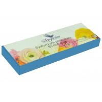 Dona Jerdona бумага для депиляции в полосках синяя (7х22/80 г) 50 шт