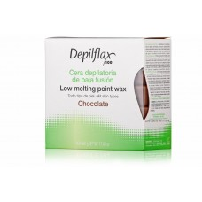 Depilflax Воск Шоколад EXTRA горячий в дисках (500 гр)