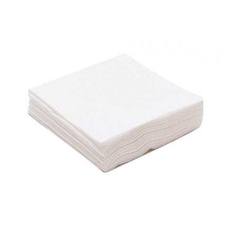 White line Одноразовые салфетки 10*10 спанлейс белый в пачках (100 шт)