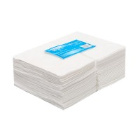White line Одноразовые салфетки 20*20 спанлейс белый в пачках (100 шт)