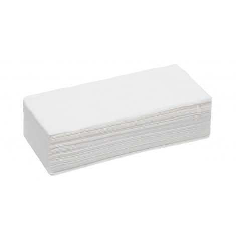 """White line """"Выбор"""" Одноразовые полотенца 35*70 спанлейс белый плотность 40гр (50 шт)"""