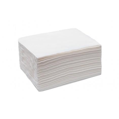 "White line""Выбор"" Одноразовые полотенца 45*90 спанлейс белый (50 шт)"