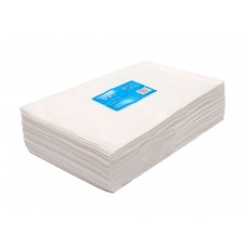 White line Одноразовые салфетки 30*40 спанлейс белый в пачках (100 шт)