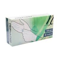 White Line Перчатки нитриловые размер M (50 пар/100шт)