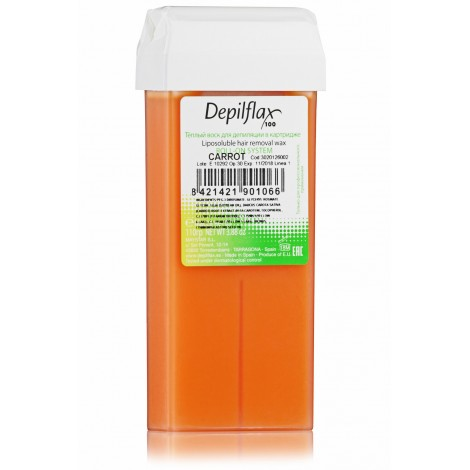 Depilflax Воск Морковь в картридже (100 мл)