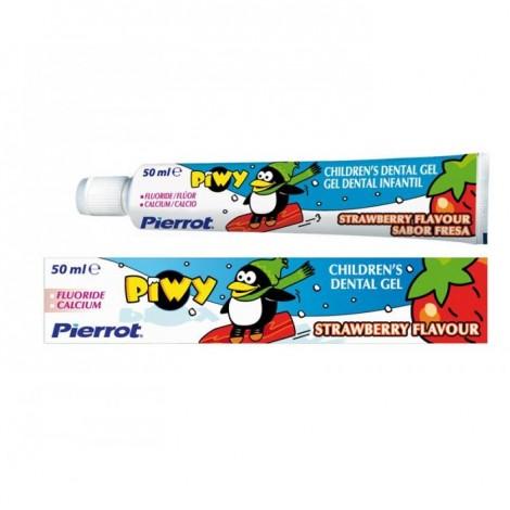 Pierrot Kids Piwy зубная паста со вкусом клубники для детей от 2 лет (50 мл)