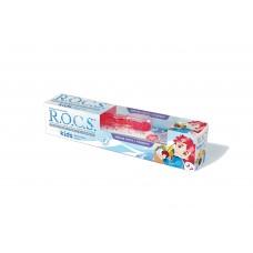 ROCS Kids зубная паста фруктовый рожок и зубная щетка для детей от 3 до 7 лет (45 гр)
